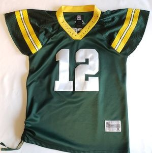 Tops - Green Bay Packer #12 Rodgers